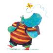 Hipopô. Un progetto di Illustrazione, Disegno, Disegno artistico, Illustrazione infantile, Pittura acrilica, Narrativa e Illustrazione editoriale di Weberson Santiago - 10.10.2020