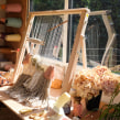 Weaving workshop shed. A Crafts project by Lucy Rowan - 09.15.2017