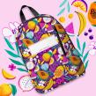 Backpack design. Un proyecto de Ilustración, Diseño de complementos y Pattern Design de Ana Blooms - 15.10.2020