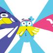 Cartoon Network ID - Story Studio. Un projet de Design , Illustration, Motion Design, Cinéma, vidéo et télévision, Animation, Character Design, Animation de personnage , et Animation 2D de Facundo López - 18.10.2020