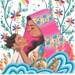 Madre. Um projeto de Ilustração, Ilustração têxtil e Ilustração infantil de Jimena S. Sarquiz - 01.01.2019