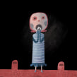 Sustos primerizos  FILIJ XXII. Un projet de Illustration, Créativité, Dessin, Illustration numérique, Illustration jeunesse , et Peinture numérique de Luis San Vicente - 21.10.2020