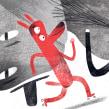 KoKo and Kiki NAMI Island International Illustration concours 2017. Un progetto di Illustrazione, Creatività, Disegno a matita, Illustrazione digitale, Illustrazione infantile, Disegno digitale e Illustrazione con inchiostro di Luis San Vicente - 15.11.2017