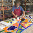 Inspired by Barcelona – Mosaic Wall. A Crafts project by Gary Drostle - 05.26.2017