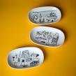 The Tinned Fish Market. Um projeto de Ilustração e Cerâmica de CHICHINABO INC - 29.10.2020