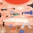 A fotógrafa. A Illustration, Drawing, Children's Illustration, and Editorial Illustration project by Ana Matsusaki - 11.02.2019