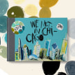 We met in Chicago. Sketchbook del Symposium de Urban Sketchers. Un projet de Illustration , et Art urbain de Maru Godas - 30.10.2020