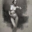 Summer's Call. A Bildende Künste, Bleistiftzeichnung, Zeichnung, Porträtzeichnung, Realistische Zeichnung, Artistische Zeichnung und Anatomische Zeichnung project by Shane Wolf - 03.11.2020
