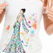 Camisetas . Un proyecto de Ilustración, Moda, Diseño de moda, Ilustración digital y Dibujo digital de Carol Gomide - 06.11.2020