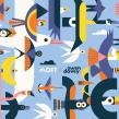 MOFT Laptop Stand. Un projet de Illustration, Illustration vectorielle et Illustration numérique de Owen Davey - 10.02.2020