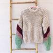 Mi Proyecto del curso: Crochet: crea prendas con una sola aguja. Un projet de Artisanat, Créativité, St, lisme, Couture , et Teinture textile de Alicia Recio Rodríguez - 20.10.2020