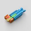E3D V6 - Educational Hotend Model. Um projeto de 3D de Agustín Arroyo - 10.11.2020