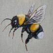 White Tailed Bumble Bee. Um projeto de Bordado de Yulia Sherbak - 10.11.2020