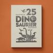 25 dinosaur card box set. Un progetto di Illustrazione e Illustrazione infantile di Dieter Braun - 11.11.2020