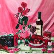 """""""di la verdad rosa II"""" proceso. . Un proyecto de Pintura a la acuarela de Elisa Alcalde Castro - 18.11.2020"""