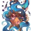 Mi Proyecto del curso: Técnicas de acuarela para ilustraciones de ensueño. A Illustration und Aquarellmalerei project by Gemma Capdevila - 23.11.2020