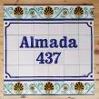Personalized mural for a bar. Un proyecto de Cerámica de Gazete Azulejos - 30.11.2020