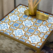 Tiled tables . A Furniture Design, Painting, Decoration, and Ceramics project by Gazete Azulejos - 11.30.2020