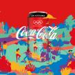 Coca-Cola Young Olympic Games. Un proyecto de Ilustración, Packaging y Diseño de producto de Vero Escalante - 02.12.2020