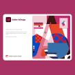 Adobe Indesign Splash Screen 2021. Un proyecto de Ilustración y Lettering digital de Birgit Palma - 11.12.2020