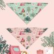 Evergreen - Bark Collection. Um projeto de Design, Ilustração, Design de acessórios e Pattern Design de Ana Blooms - 12.12.2020