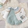 Set de bebé GINGER & PICKLES - Colaboración con Mez Crafts. A Crafts, Pattern Design, Fashion Design, and Fiber Arts project by Marta Porcel Vilchez - 12.16.2020
