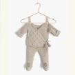Conjunto de Punto NUR para bebé. A Crafts, Pattern Design, Fashion Design, and Fiber Arts project by Marta Porcel Vilchez - 10.01.2018