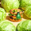 Play With Your Food. Un progetto di Animazione 2D, Fotografia di prodotti, Illuminazione fotografica, Fotografia digitale, Fotografia gastronomica , e Fotografia per Instagram di Andre Rucker - 18.12.2020