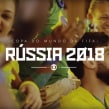 Globo Rússia 2018. A Motion Graphics, T, pograph, T, pograph, and design project by Álvaro Franca - 12.19.2020