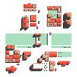 Un País de Lletres.. A Grafikdesign, Infografik und Vektorillustration project by Paadín - 21.12.2020