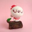 Anita, the singing mushroom girl. Um projeto de Design de personagens, Artesanato, Artes plásticas, Escultura, To e Art de droolwool - 23.12.2020