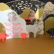 Juguetes de papel. Um projeto de Papercraft de Paz Tamburrini - 08.07.2019