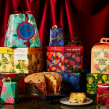 Carluccio's Christmas Packaging. A Illustration, Packaging, and Pattern Design project by Tatiana Boyko - 01.11.2021