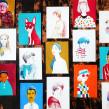 Ánimas. Un proyecto de Ilustración, Diseño editorial, Bellas Artes, Pintura, Arte urbano, Creatividad, Dibujo a lápiz, Dibujo, Pintura a la acuarela, Ilustración de retrato, Dibujo artístico, Pintura acrílica, Illustración editorial y Pintura gouache de Adolfo Serra - 14.01.2021
