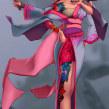 Concepto de Personajes: Reina Dullahan. Un progetto di Character Design , e Arte concettuale di Erick Hernández Anda - 17.01.2021