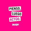 Pienso, luego actúo - Yoigo. A Webdesign, Webentwicklung, Social Media, Produktion, Digitales Marketing, Audiovisuelle Produktion und Content-Marketing project by David Alayón - 20.11.2018