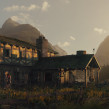 Farm House. A 3D, Concept Art, and Matte Painting project by Diogo Sampaio - 01.17.2021