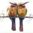 "'Tweedle Dee and Tweedle Dum"". Un progetto di Pittura ad acquerello di Sarah Stokes - 21.02.2021"