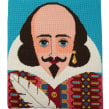 William Shakespeare needlepoint. Un projet de Artisanat de Emily Peacock - 24.02.2021