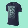 Nike t-Shirt Design. A Br, ing, Identit, Graphic Design, Vector Illustration, Poster Design, Textile illustration, T, pograph, and design project by Mark Brooks - 02.25.2021
