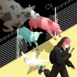 Cut the fences. Un proyecto de Ilustración, Ilustración digital y Pintura digital de Laura Wächter - 27.04.2020