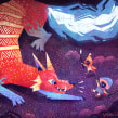 The Monster Project 2019. Un progetto di Illustrazione, Illustrazione digitale e Illustrazione infantile di Gemma Gould - 09.03.2021
