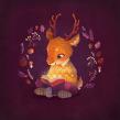 Cosy Winter | Domestika Time-lapse. Un projet de Illustration, Illustration numérique et Illustration jeunesse de Gemma Gould - 09.03.2021