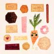 Biscuits. Un progetto di Illustrazione, Illustrazione digitale, Illustrazione infantile e Illustrazione editoriale di Gemma Gould - 09.03.2021