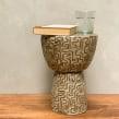 Mesa tipo banco. Un proyecto de Diseño, Artesanía, Diseño de muebles y Cerámica de Kiara Hayashida - 14.03.2021