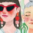 Colección BASEMENT. Um projeto de Ilustração e Pintura em aquarela de Valentina Armstrong - 16.03.2021