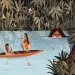 El Mohan. A Digital illustration, and Children's Illustration project by Juanita Londoño Gaviria - 10.10.2019