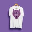 Tiger T-Shirt. Un proyecto de Diseño, Ilustración y Diseño de moda de Matacho Descorp - 01.01.2020