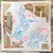 Hummingbird collage. Um projeto de Ilustração, Esboçado, Sketchbook e Ilustração naturalista de Jenny Rae - 21.03.2021
