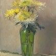 Chrysanthemums. Un progetto di Pittura ad olio di Remi Cárdenas - 23.03.2021